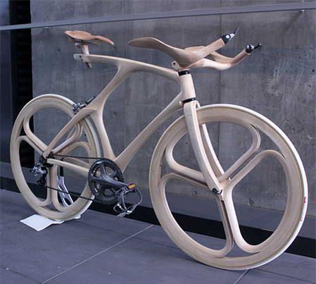 木制自行车创意设计