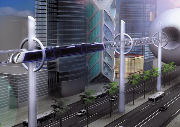城市概念轨道车_交通工具_沈阳创新设计服务中心